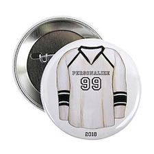 "Hockey Jersey 2.25"" Button"