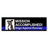 Mission Accomplished sticker - Pittie