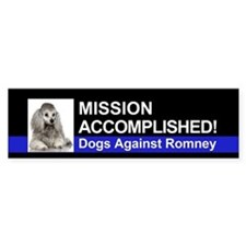 Mission Accomplished sticker - Poodle