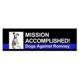 Mission Accomplished sticker - Dalmation