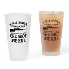 Scout-Sniper Instructor Drinking Glass