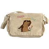 Happy Groundhog Day Messenger Bag