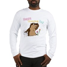 Happy Groundhog Day Long Sleeve T-Shirt