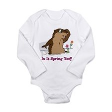 Is It Spring Yet Long Sleeve Infant Bodysuit