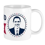 Obama Yes We Did Again Color Small Mug
