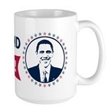 Obama Yes We Did Again Color Mug