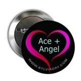 "Ace + Angel 2.25"" Button"
