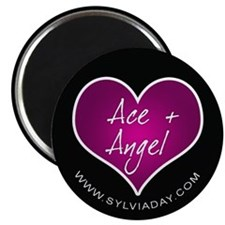 Ace + Angel [heart] Magnet