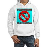 Dress Codes Suck! Hooded Sweatshirt