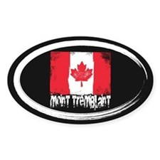 Mont-Tremblant Grunge Flag Decal
