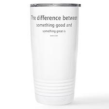 Attention to Detail Ceramic Travel Mug