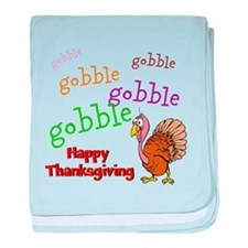 Thanksgiving - baby blanket