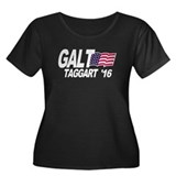 Galt Taggart 2016 Women's Plus Size Scoop Neck Dar