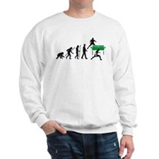 evolution table tennis player Sweatshirt