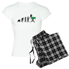 evolution table tennis player Pajamas
