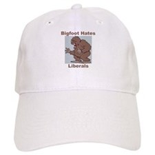 Bigfoot Hates Liberals Baseball Cap