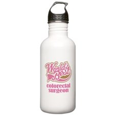 Colorectal Surgeon (Worlds Best) Water Bottle