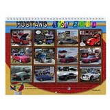 2013 Mustang RIOT Wall Calendar