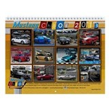 2013 Mustang Chaos Wall Calendar