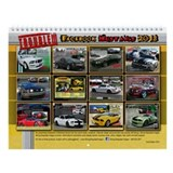 2013 Mustang T R O U B L E Wall Calendar