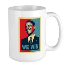 Barack Obama We Win Mug