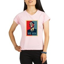 Barack Obama We Win Performance Dry T-Shirt