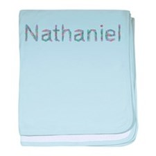 Nathaniel Paper Clips baby blanket