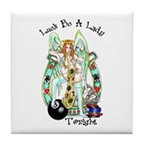 Luck Be A Lady Tonight Tile Coaster