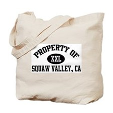 Property of SQUAW VALLEY Tote Bag