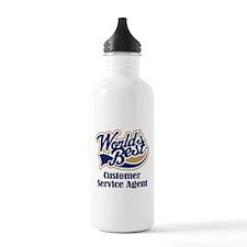 Customer Service Agent (Worlds Best) Water Bottle