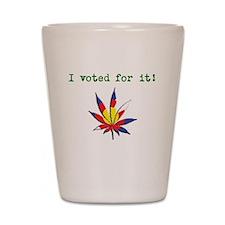 I voted Shot Glass