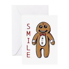 Smile Cookie Greeting Card
