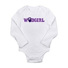 WODGirl - Kettlebell Long Sleeve Infant Bodysuit