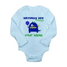 Birthday Boy Monster Body Suit