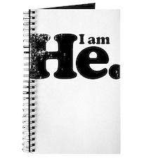 I am he. Journal