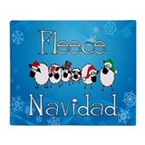 Fleece Navidad Throw Blanket