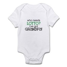 Who needs lotto? (Grandpa) Infant Creeper