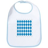 Bavaria flag pattern Bib