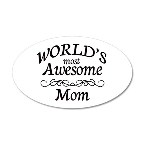 Awesome 35x21 Oval Wall Decal