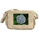 Hydrangea Perfection Messenger Bag