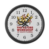 Actors Workshop Large Wall Clock