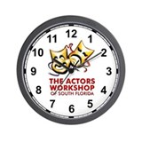 actorsworkshop_teedark.png Wall Clock