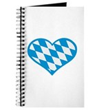 Bavaria flag heart Journal