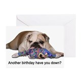 Birthday Blues Greeting Cards (Pk of 10)