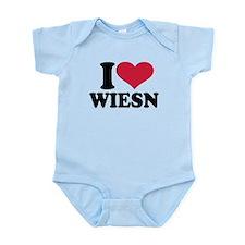 I love Wiesn Oktoberfest Infant Bodysuit