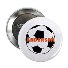 """Personalized Soccer 2.25"""" Button (10 pack)"""