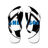 Personalized Soccer Flip Flops