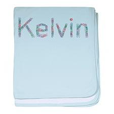 Kelvin Paper Clips baby blanket