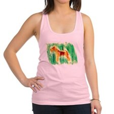 Watercolor Lakeland Racerback Tank Top