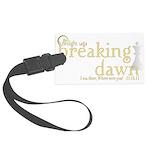 Breaking Dawn 2 Large Luggage Tag